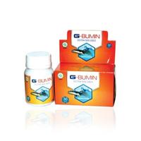 G Bumin Ekstrak Ikan Gabus Kapsul 500 mg (1 Box @ 30 Kapsul)