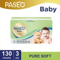 Paseo Baby Tissue Bayi Soft Pack 130 Sheets