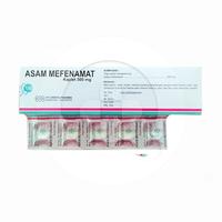 Asam Mefenamat Errita Kaplet 500 mg (1 Strip @ 10 Kaplet)