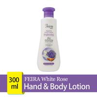 FEIRA White Rose Hand & Body Lotion 300 mL