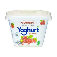 Yummy Fruit Yoghurt Raspberry 6 x 80 g