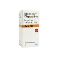 Madopar Tablet 125 mg (1 Botol @ 30 Tablet)