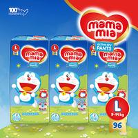 Mamamia Popok Bayi Tipe Celana L96 (L30 Free 2 Pcs x 3 Pack)
