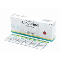 Allopurinol Landson Tablet 100 mg (1 Strip @ 10 Tablet)
