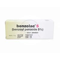 Benzolac Gel 5% - 5 g