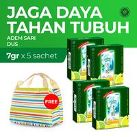 Adem Sari Dus 4 x 5's @ 7 g - Free Lunch Bag
