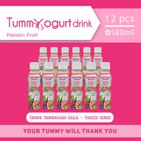 Heavenly Blush Tummy Yogurt Drink Sugar Free Passion Fruit 180 ml (12 Pcs)