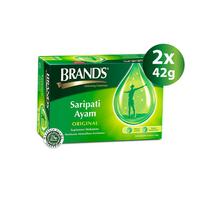 Twin Pack Brand's Saripati Ayam Original 42 g (12 Botol)