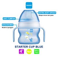 MAM Starter Cup 150 ml 4 Months Plus - Blue