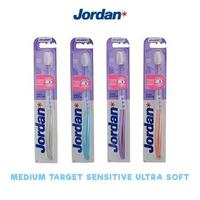 Jordan Toothbrush Medium Target Sensitive Ultra Soft (1 Pack @ 1 Pcs)