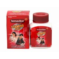 Hemaviton Stamina Plus Kapsul (1 Botol @ 30 Kapsul)