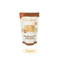 Casa Grata Sesame and Chia Crackers 70 g