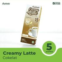 Ashitaki Creamy Latte Chocolate 24 g (1 Box @ 5 Sachet)