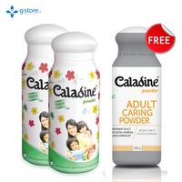 Beli 2 Caladine Powder Original 100 g Gratis 1 Caladine Adult 100 g