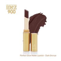 Inez 900 Perfect Glow Matte Lipstick - Dark Bronze