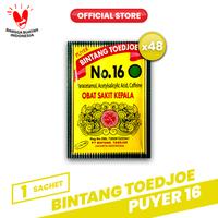 Bintang Toedjoe Puyer No.16 4 Pack (48 Sachet)