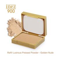 Inez 900 Refill Lustrous Pressed Powder - Golden Nude