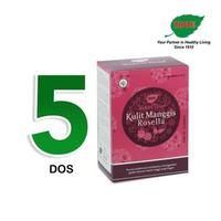 Jamu IBOE - 5 Box IBOE Natural Drink Kulit Manggis Rosella 5 Sachet