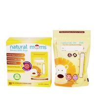 Natural Moms Kantong ASI 100 ml - Thermal Sensor - Yellow Lion