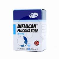 Diflucan Kapsul 150 mg (1 Strip @ 1 Kapsul)
