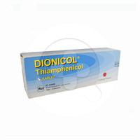 Dionicol Kaplet 500 mg (1 Strip @ 10 Kaplet)