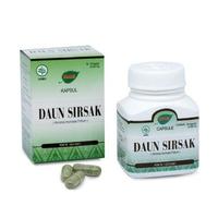Jamu IBOE - 1 Botol Daun Sirsak Herbal Supplement 30 Kapsul