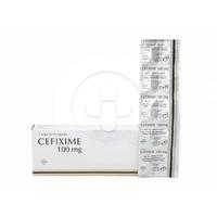 Cefixime Novell Kapsul 100 mg (1 Strip @ 10 Kapsul)