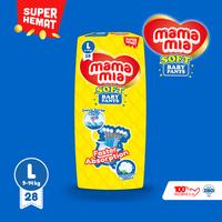 Mamamia Soft Popok bayi Tipe celana L 28+4