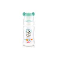 Lusty Bunny Square Bottle Botol Susu With Ear Hood 120 ml - Hijau