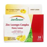 Jamieson Zinc Lozenges Complex Tablet (3 Strip @ 10 Tablet)