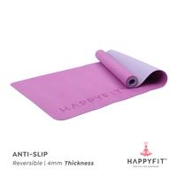 Happyfit Yogamat TPE 4 mm - Purple