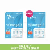 Buy 1 Get 1 Youvit Omega 3 7D Dewasa