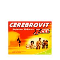 Cerebrovit X-Cel Kapsul (1 Strip @ 10 Kapsul)
