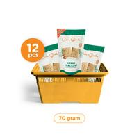 Casa Grata - Set of 12 Crackers A - Same Flavour - 12 Herbs