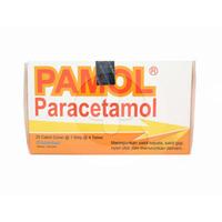 Pamol Tablet 500 mg (1 Strip @ 4 Tablet)