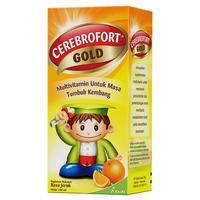 Cerebrofort Gold Rasa Jeruk Sirup 100 mL