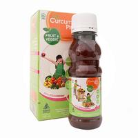 Curcuma Plus Fruit & Veggie Rasa Strawberry Sirup 100 mL