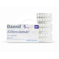 Daonil Tablet 5 mg (1 Strip @ 10 Tablet)