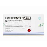 Lansoprazole Hexpharm Kapsul 30 mg (1 Strip @ 10 Kapsul)