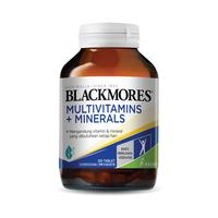 Blackmores Multivitamins + Minerals (120)