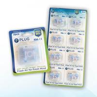 PLUG Nasal Filter 2 Pack (2 & 8 Pcs)