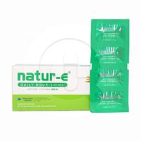 Natur-E Natural Vitamin E Kapsul 100 IU (1 Strip - 4 Kapsul)