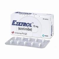 Ezetrol Tablet 10 mg (1 Strip @ 10 Tablet)