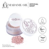 Madame Gie Banana Loose Powder 03 Ivory