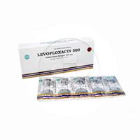 Levofloxacin Tablet 500 mg (1 strip @ 10 tablet)
