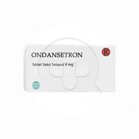 Ondansetron Tablet 4 mg (1 Strip @ 6 Tablet)