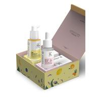 EverShine Treasure Glow Duo Whitening Anti-aging Kit / 10 % Fruit Mix natural AHA BHA & 2 % Pure Bakuchiol / Natural Alternative Retinol
