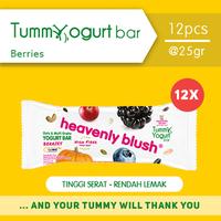 Heavenly Blush Tummy Yogurt Bar Berries 25 g (12 Pcs)