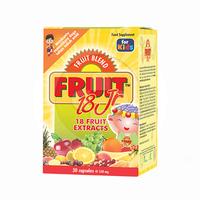 Fruit Blend 18 Junior Kapsul (1 Botol @ 30 Kapsul)