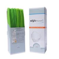 Evo PlusMed 4D Surgical Face Mask (Box @ 25 Pcs) - Lime Green
